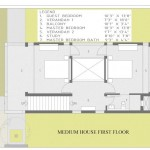 medium home first floor plan